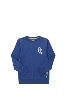 F&F 84 Sweatshirt with As New Technology Blue 11-12 years