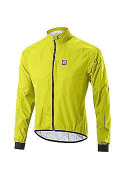 Altura Peloton Waterproof Cycling Jacket - Yellow