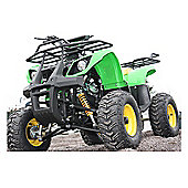 125cc 4 Stroke Quad Bike with Reverse Green