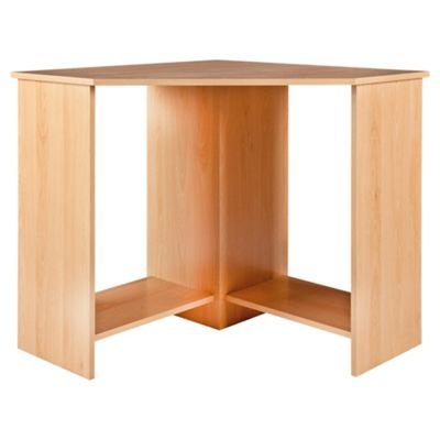 Collin Corner Desk, Beech-Effect