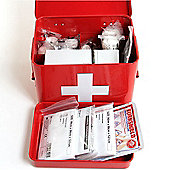 First Aid Tin with First Aid Kit