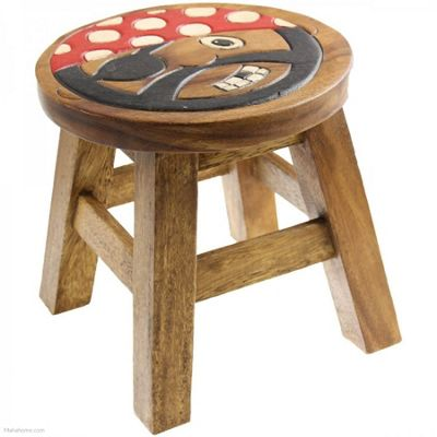 Apollo Kids Stool, Pirate pattern