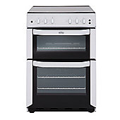 Belling FSG55TCFWH 550mm Twin Cavity Gas Cooker FSD White