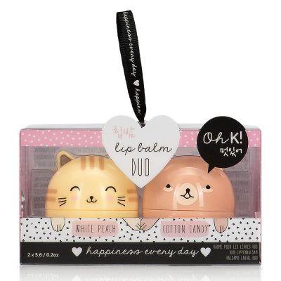 Oh K! Character Lip Balm Duo
