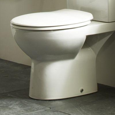 Tavistock Rio Soft Close Toilet Seat in White