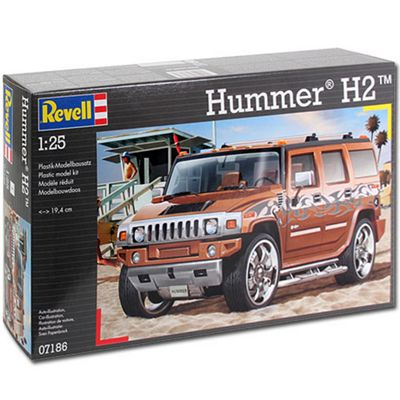 Revell Hummer H2 1:25 Model Car Kit - 07186