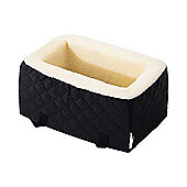 PawHut Pet Car Seat Cat Dog Puppy Safety Carrier Booster Seat 38 x 24 x 18cm