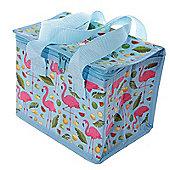 Lauren Billingham Flamingo Design Insulated Lunch Cooler Bag
