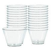 Clear Plastic Tumbler Glasses - 255ml 72 Pack