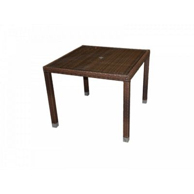 Open Leg Table - Square (90 x 90) in Chocolate Mix