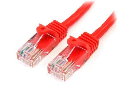 StarTech Cat 5e Cables RJ-45 - Cat5e UTP 350 MHz PVC 1 m Red