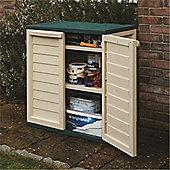 "2 x 2 Plastic Utility Cabinet (0.79m x 0.50m) (2ft 5"" x 1ft 7"")"