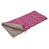 Regatta Maui 2 Season Kids Single Sleeping Bag - Pink