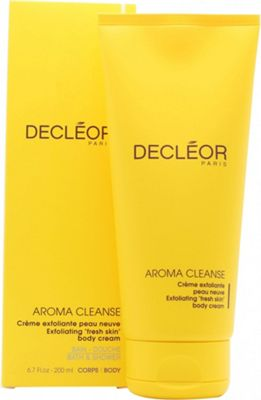 Decleor - Aroma Cleanse Exfoliating Body Cream -200ml/6.7oz Sisley Mattifying Moisturizing Skin Care With Tropical Resins For Combination & Oily Skin (oil Free) 50ml/1.6oz