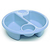 The Neat Nursery Circular Top N' Tail Wash Bowl - Blue