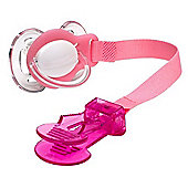 Emmay Care Soother Holder - Pink