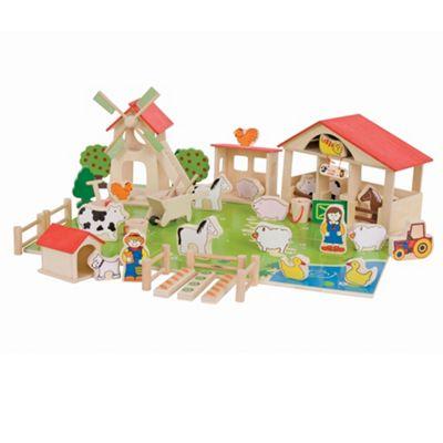 Bigjigs Toys Play Farm