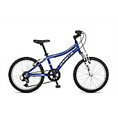 "Orbita Shark 20"" Wheel 6 Speed Lightweight Alloy Front Suspension Mountain Bike (Blue)"