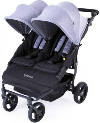 My Child Easy Twin Double Stroller