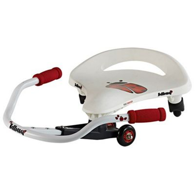 JD Bug Swayer Swivel Seat Toy - White/Red