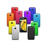 Cennett Motorola Moto E 2 (2015) Silicone Gel Case 10 in 1