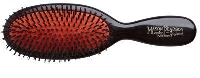 Mason Pearson B4 Pure Bristle Pocket Hair Brush - Dark Ruby