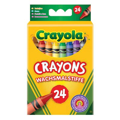 Crayola - 24 Assorted Crayons