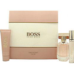 Hugo Boss The Scent for Her Gift Set 50ml EDP + 50ml Body Lotion + 7.4ml EDP For Women
