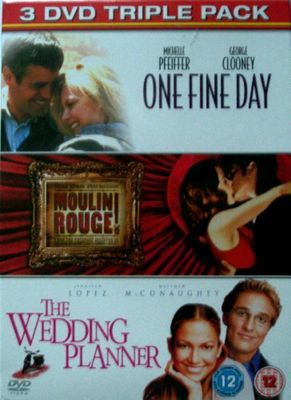 One Fine Day/Wed Planner/Moulin Rouge (DVD Boxset)
