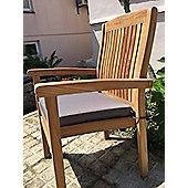 Large Seat Pad Dove Grey
