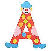 Tatiri Crazy Clown Letter A ((Red) Spots)