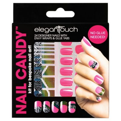 Elegant Touch Nail Candy Pink