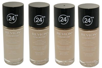 Revlon Colorstay 24 Hours / 24hrs Foundation Makeup - Toast (370) Normal/Dry