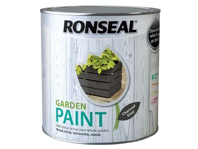 Ronseal Garden Paint Charcoal Grey 2.5 Litre