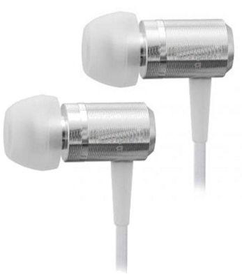 U-Bop SlimLINE Stereo Earphones with built in MIC - White