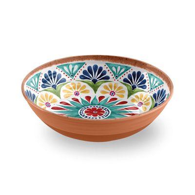 Epicurean Rio Medallion Melamine Large Salad Bowl 30cm