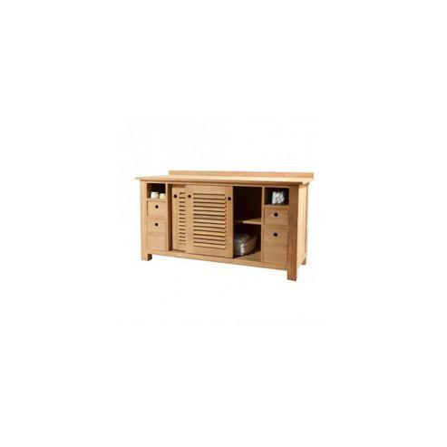 Tikamoon Coline Duo Teak Vanity Cabinet