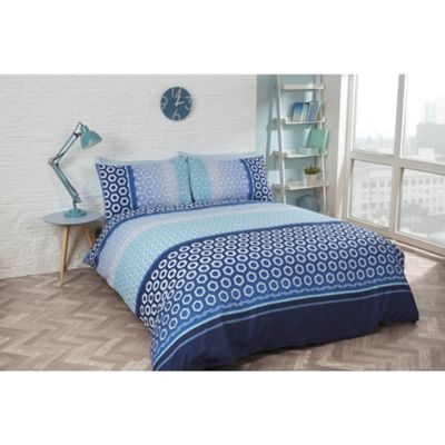 Rapport Barbican Blue Duvet Cover Set - Single