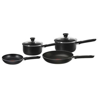 buy tefal adventure aluminium saucepan frying pan set 4. Black Bedroom Furniture Sets. Home Design Ideas