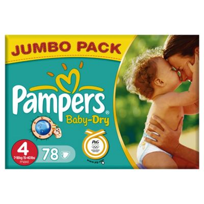 Pampers Baby Dry Jumbo Jumbo 78