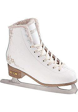 SFR Glitra Kids Ice Skates - White