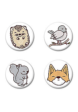 Happy Forest Badge Pack - Multi