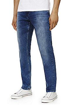 F&F Stretch Straight Leg Jeans with COOLMAX® - Dark wash