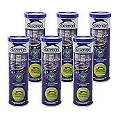 2 Dozen Slazenger Wimbledon Ultra Vis Hydroguard Tennis Balls