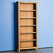 Surrey Oak Bookcase - Large Bookcase - Rustic Oak