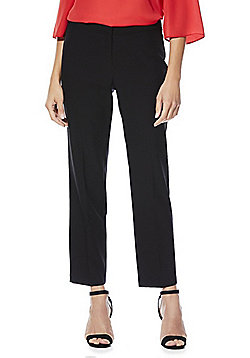 F&F Slim Ankle Grazer Trousers - Black