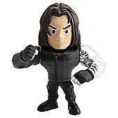 Metals Die Cast Marvel Civil War: 4 Inch Winter Soldier