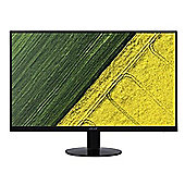 "Acer SA270 - LED monitor - 27"" - 1920 x 1080 Full HD (1080p) - IPS - 250 cd/m² - 4 ms - HDMI, DVI, VGA - black"
