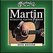 Martin MG170 Acoustic Guitar Strings Extra Light Gauge
