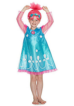 DreamWorks Trolls Poppy Dress-Up Costume - Blue & Pink